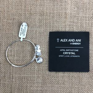Alex and Ani (+) Energy April Bracelet